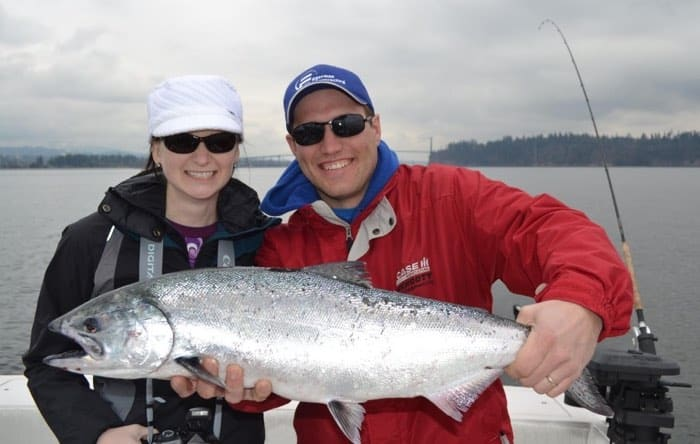 Best salmon fishing in Vancouver
