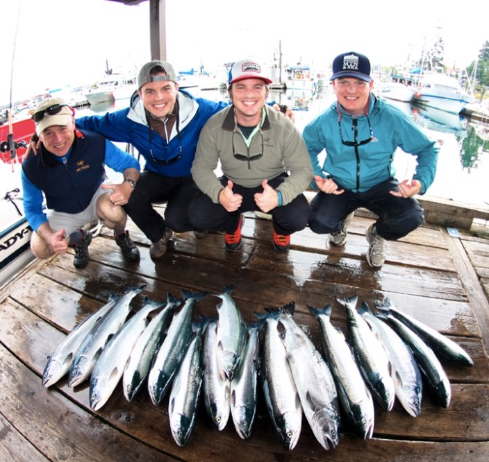 Fishing Charters in Campbell River, British Columbia