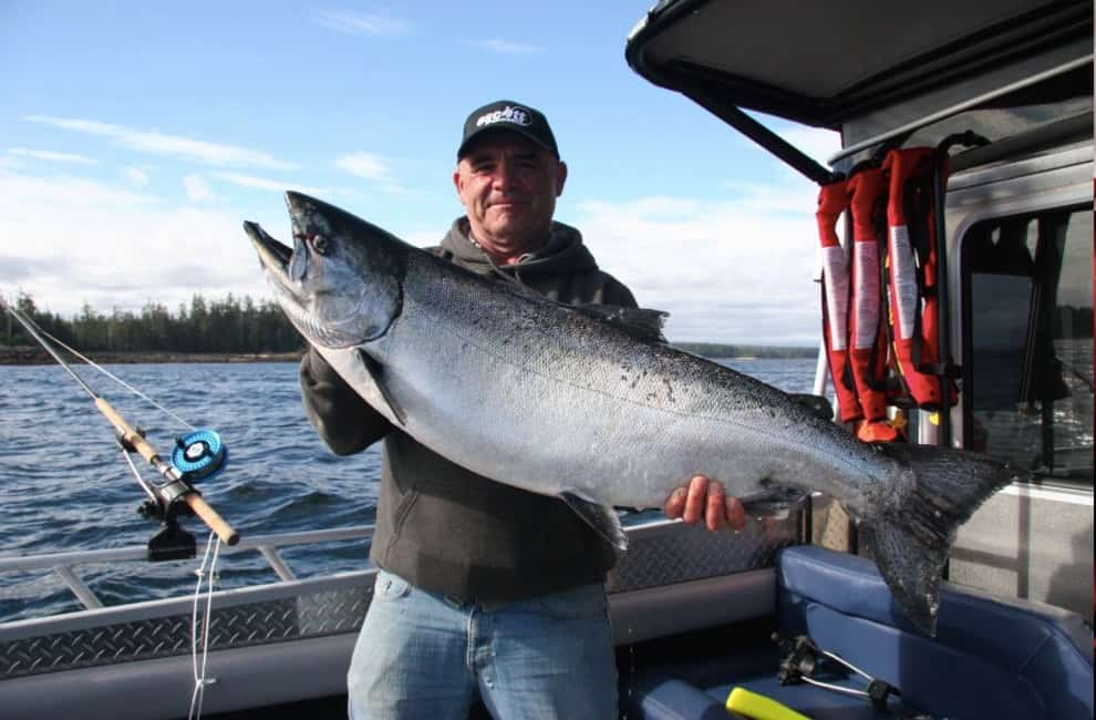 Haida Gwaii Fishing | Chinook salmon