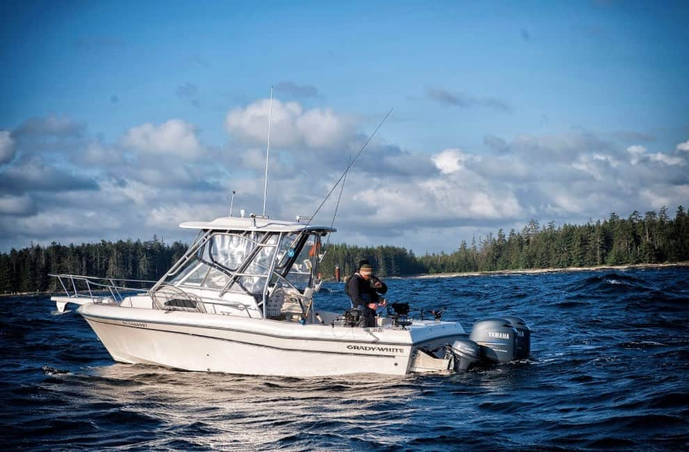 Haida Gwaii Fishing | Fish on fully guided Grady White sport fishing boats