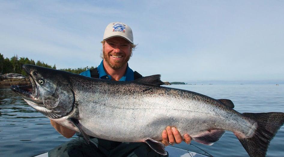 Rivers inlet salmon fishing trips british columbia for Salmon fishing bay area