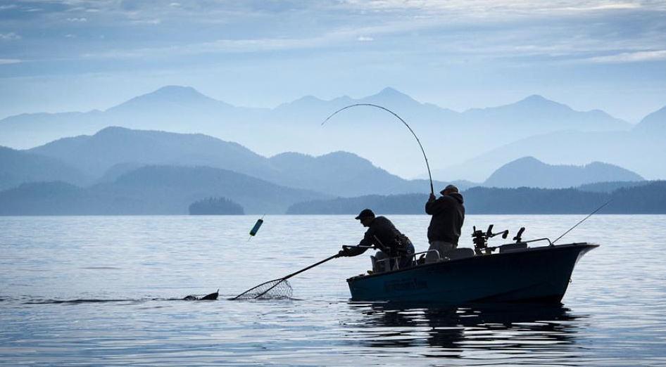 Rivers inlet salmon fishing trips british columbia for Salmon fishing setup