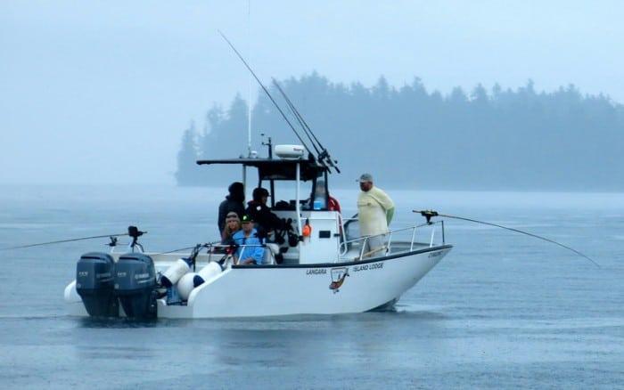 Salmon Fishing Langara Island BC 4