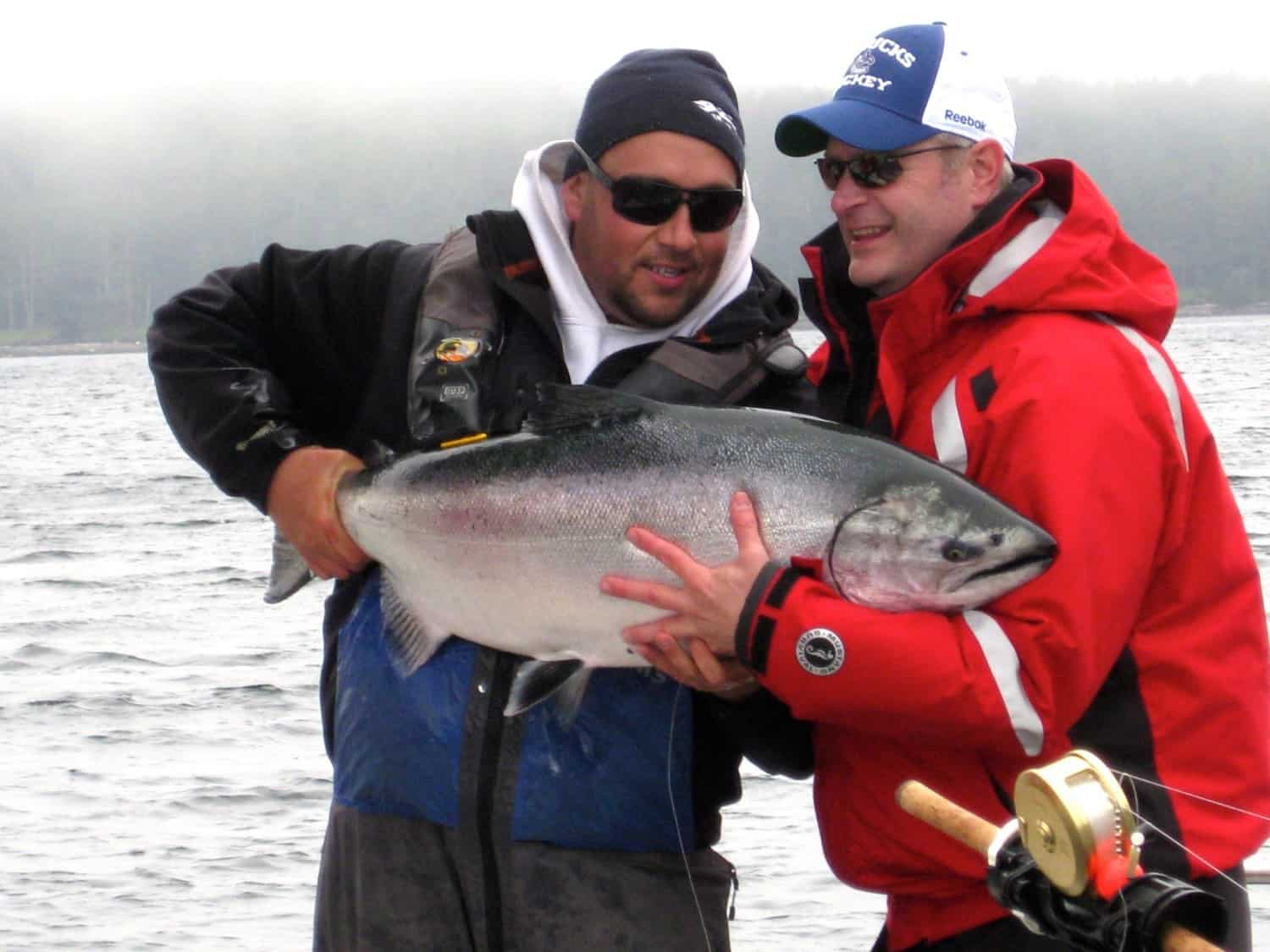 Salmon Fishing at Langara Island