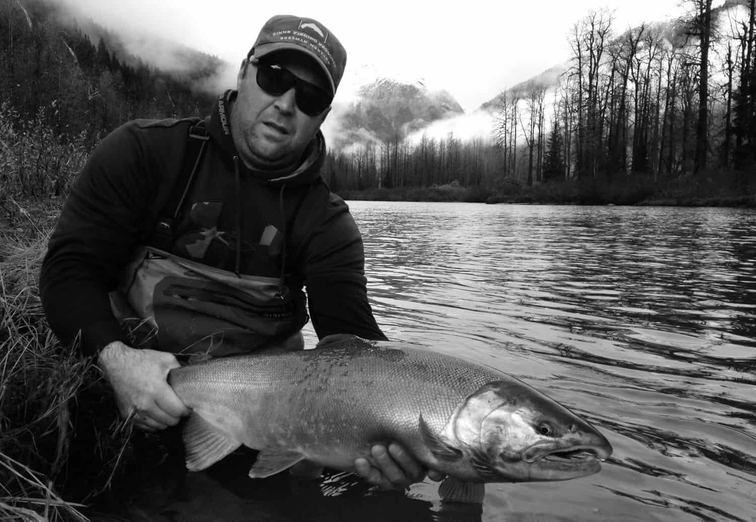 Skeena River Salmon Fishing