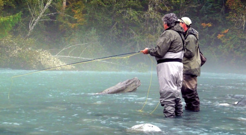 vancouver fly fishing trips and guides