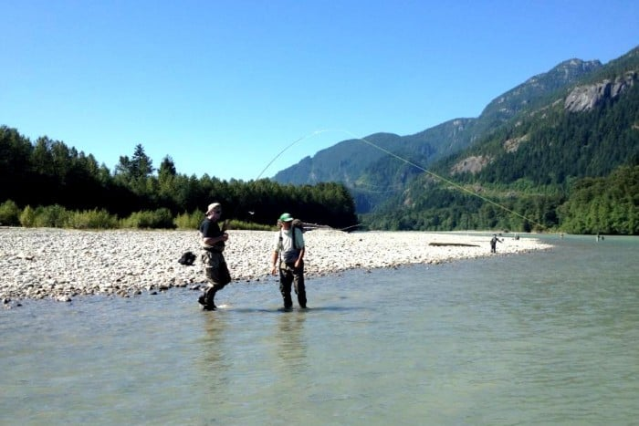 Vancouver Fly Fishing | Summer fishing on the Squamish River