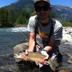 Flyfishing Whistler BC