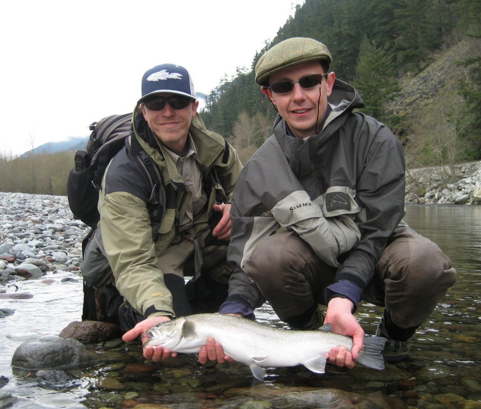 Summer bull trout