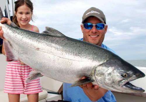 Pacific Angler salmon charter
