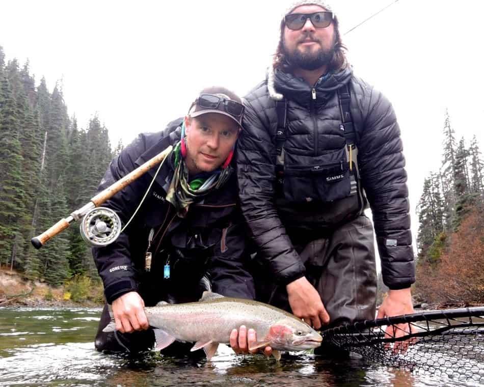 best steelhead fishing trip in British Columbia