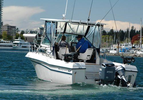 Pacific Angler Salmon Fishing