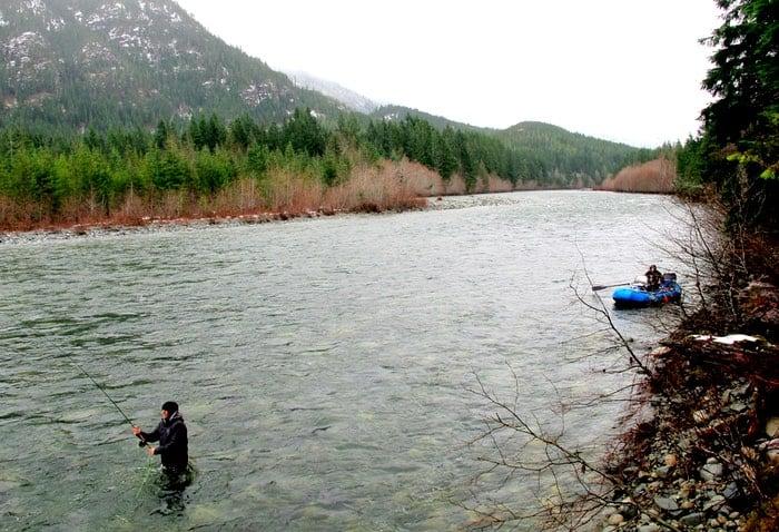 Vancouver island steelhead fishing guided trips packages for Fishing vancouver island