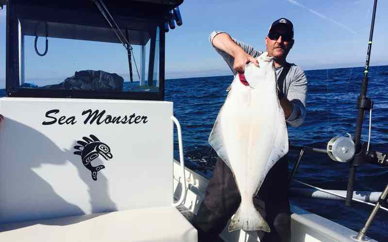 Picture Of Halibut Fish | Halibut Fishing In Bc Info On British Columbia Halibut Fishing Trips