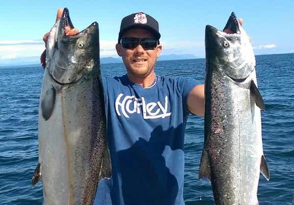 Port hardy fishing salmon fishing charters in port hardy bc for Salmon fishing charters