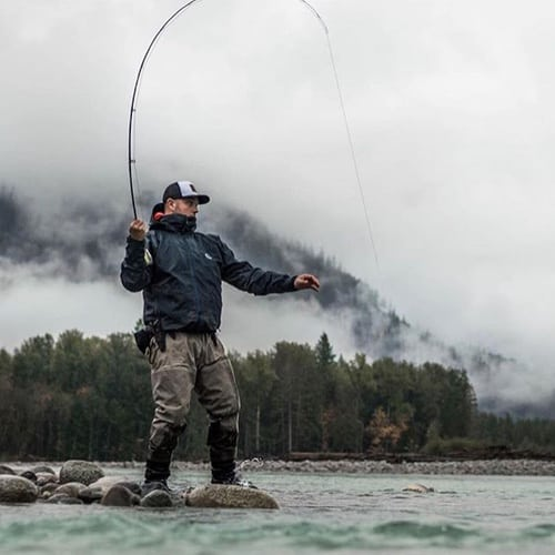 FISHING IN WHISTLER DURING THE MONTH OF MARCH