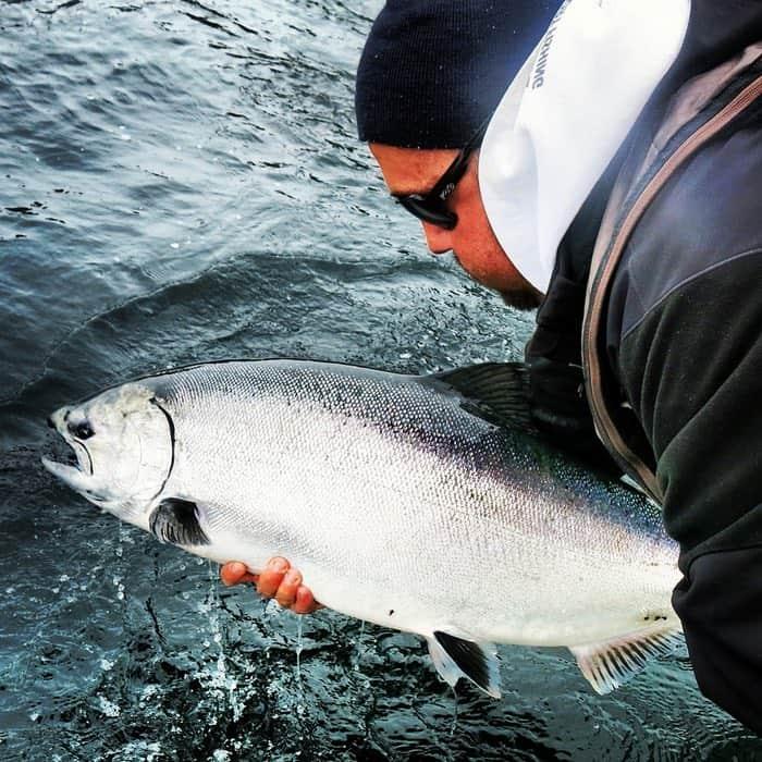 salmon fishing books vancouver island