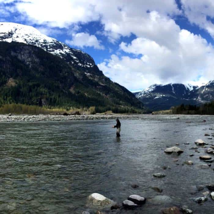 Vancouver fly fishing trips
