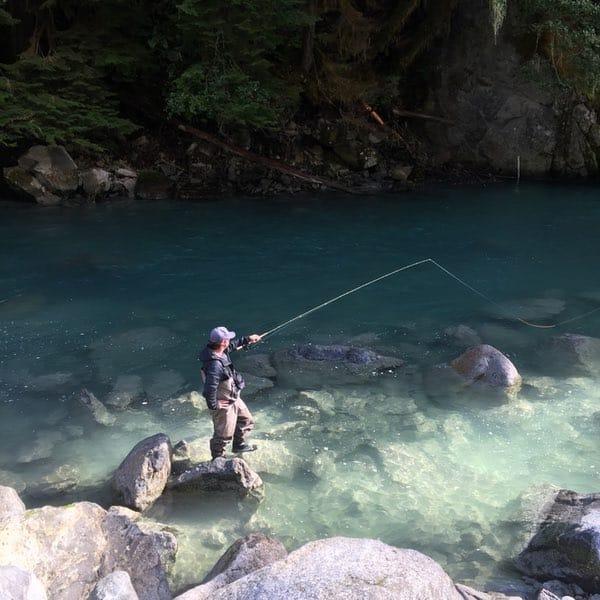 Squamish River fishing