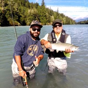 Pink Salmon Fly Fishing Vancouver