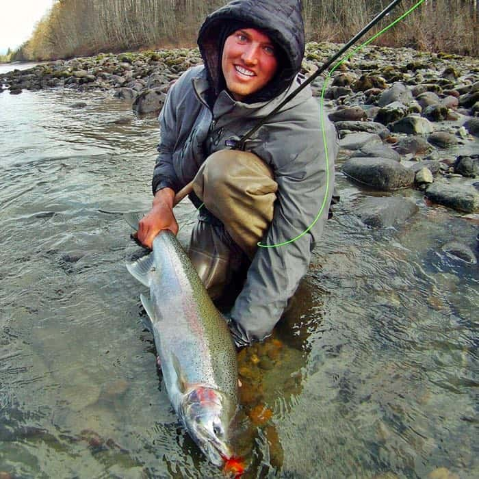FEBRUARY FLY FISHING CLOSE TO VANCOUVER