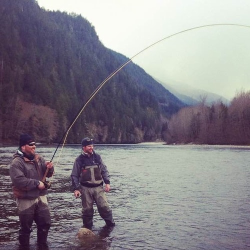 APRIL FLY FISHING TRIPS SUPER CLOSE TO VANCOUVER
