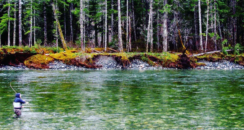 vancouver island steelhead fishing