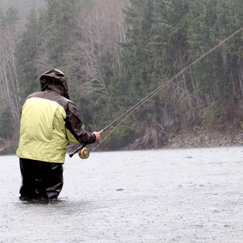 VANCOUVER ISLAND STEELHEAD FISHING IN FEBRUARY