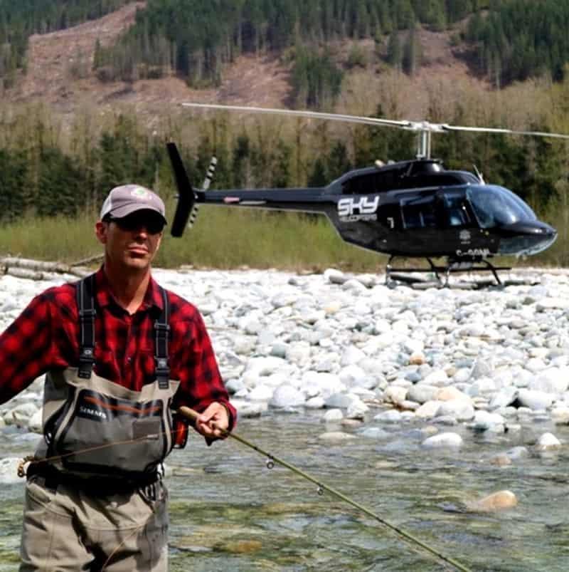 Vancouver heli fishing trips
