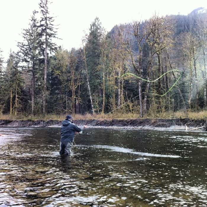 Vancouver fly fishing school