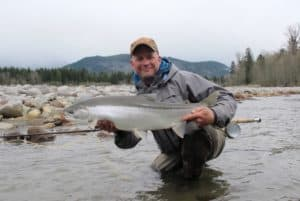 Squamish River steelhead fly fishing