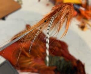 steelhead prawn fly tying