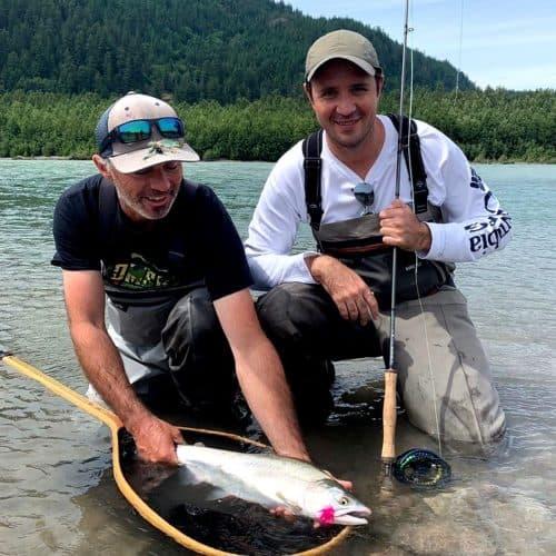 Fly fishing Squamish