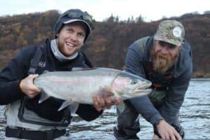 Steelhead fly fishing BC