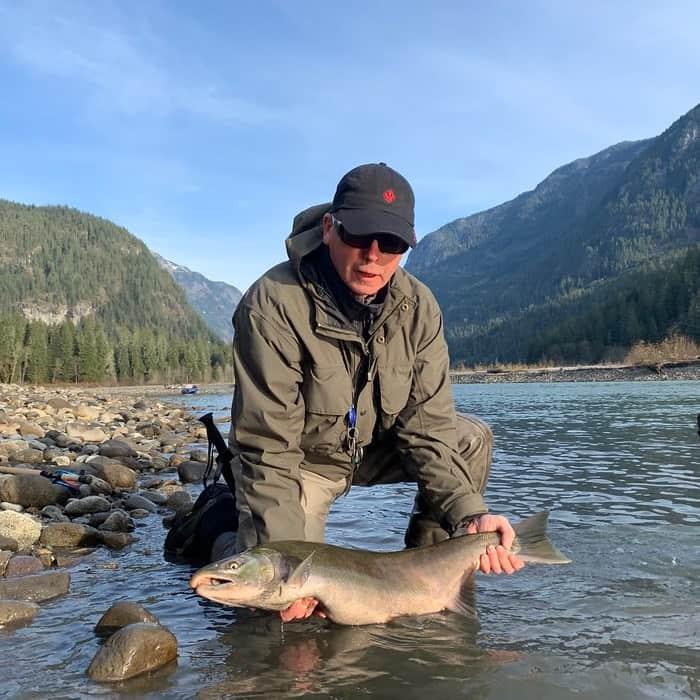 Squamish River salmon fishing