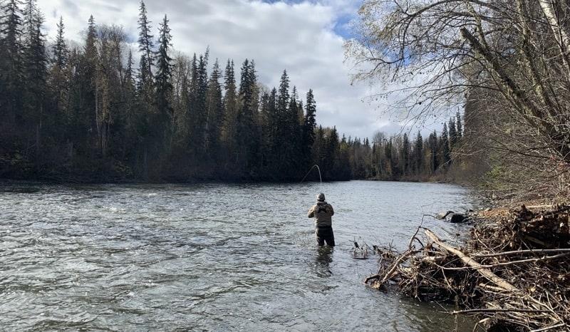 Kispiox River steelhead fishing